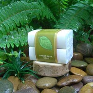 Натуральное мыло «Душистый базилик»