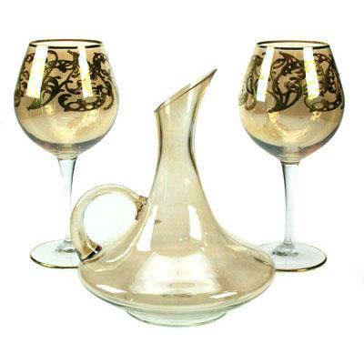 Набор для вина «Золотая вязь»