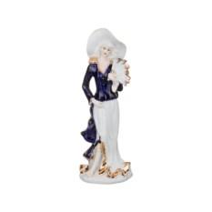 Статуэтка Девушка с веером, высота 25 см