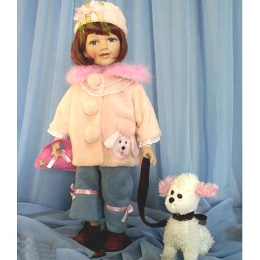 Кукла с собачкой