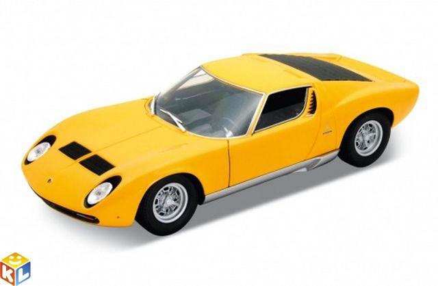 Модель автомобиля Lamborghini Miura