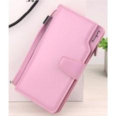 Розовое женское портмоне-клатч Baellerry Woman