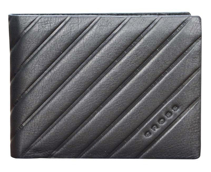Горизонтальное портмоне из фактурной кожи Cross Grabado