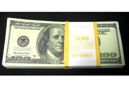 Пачка денег «100$»