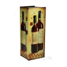 Шкатулка-сундучок под бутылку