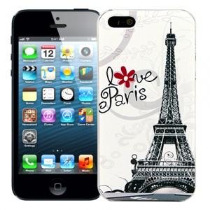 Чехол для iPhone 5/5s Cutie Love Paris