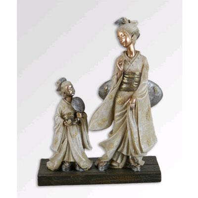 Японская кукла «Гейши: преемственность поколений»