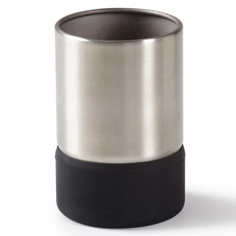 Черный стакан для ванной Ensa