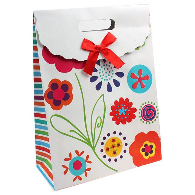 Пакет-коробочка «Волшебные цветы»