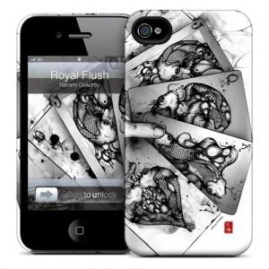 Чехол для iPhone 4/4S Gelaskins Royal Flash
