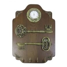 Ключница с композицией Время