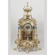 Часы из бронзы Сарагоса, цвет золотой