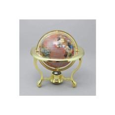 Настольный глобус Розовый рассвет