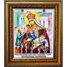 Молченская икона Божьей Матери на холсте