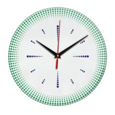 Настенные часы Точечная роспись