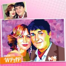 WPAP-портрет по фото