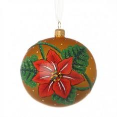 Новогодний шар Рождественская звезда