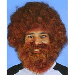 Парик «Кучерявый бородач»