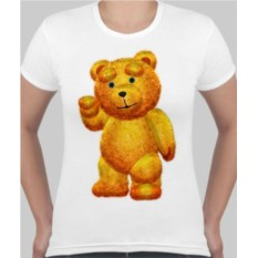 Женская футболка Тедди