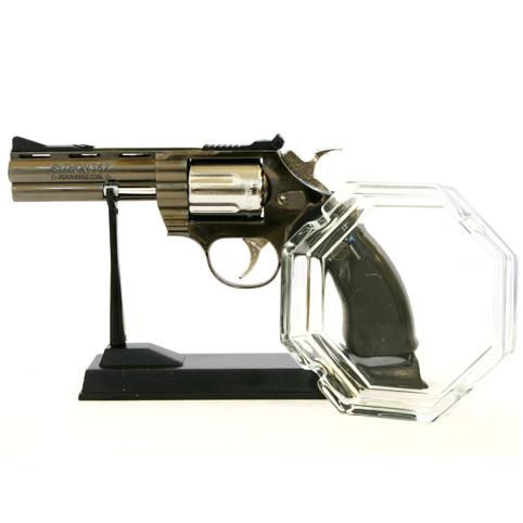 Набор из зажигалки и пепельницы «Пистолет»