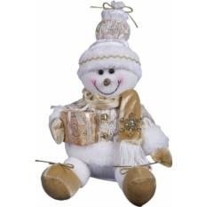 Мягкая игрушка Снеговик (25 см)
