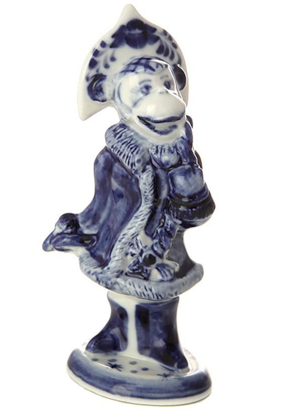 Скульптура Обезьянка - Снегурочка