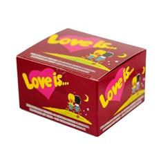 Блок жвачек Love is Вишня-лимон (20 шт.)