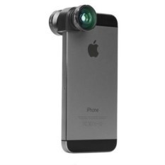 Объектив Olloclip 4-in-1 Lens Set для iPhone SE/5/5S + чехол