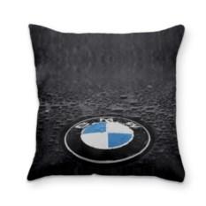 Подушка 3D BMW c большим логтипом