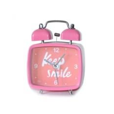 Настольный будильник Keep Smile Pink