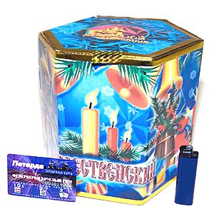 Батарея фейерверков и салютов «Рождественский»
