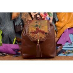 Женский рюкзак с принтом Танцовщица