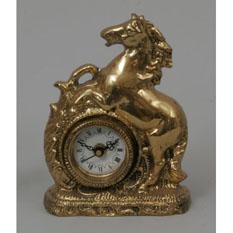 Часы из бронзы Virtus  «Лошадь»