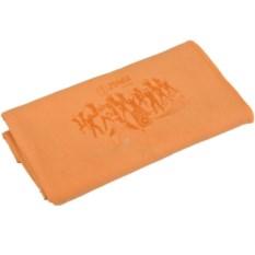 Оранжевое полотенце для фитнеса Тонус