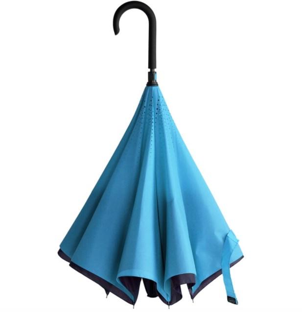 Сине-голубой зонт-трость Unit Style