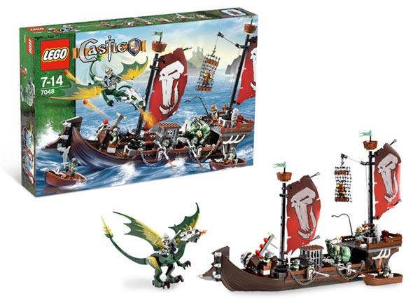 Набор Lego Castle Боевой корабль троллей