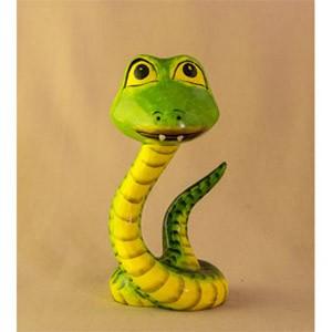 Фигурка из дерева Змей