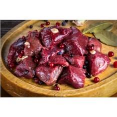 Шашлык из мяса оленя