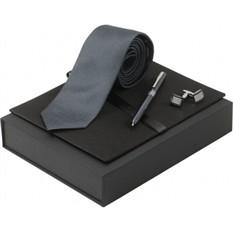 Набор (галстук, ручка роллер, запонки)