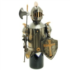 Подставка для бутылки Рыцарь крестоносец.