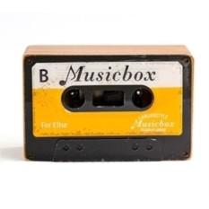 Музыкальная коробочка Retro Cassette Swan Lake Yellow
