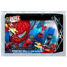 Как сделать бластер человека паука из бумаги схема