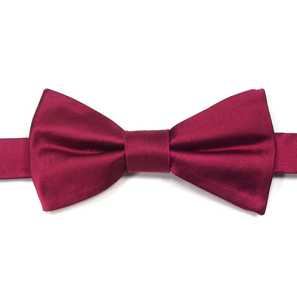 Классический галстук-бабочка вишневого цвета Laura Biagiotti