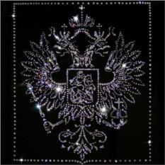Картина с кристаллами Swarovski Герб РФ