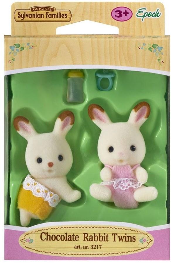 Набор Sylvanian Families Шоколадные Кролики-двойняшки