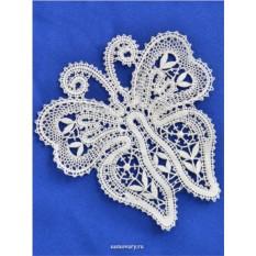 Сувенир из Вологодского кружева Бабочка