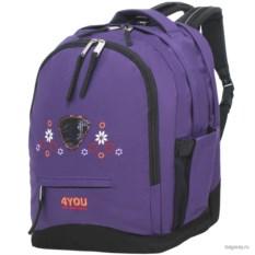 Фиолетовый рюкзак 4YOU Girl's Packs