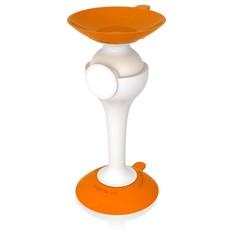 Подставка на присоске для мобильного телефона, оранжевый/белый