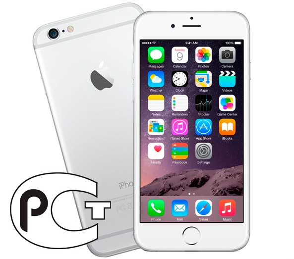 Apple iPhone 6 64Gb (White&Silver)