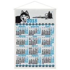 Вязаный календарь «Хаски»